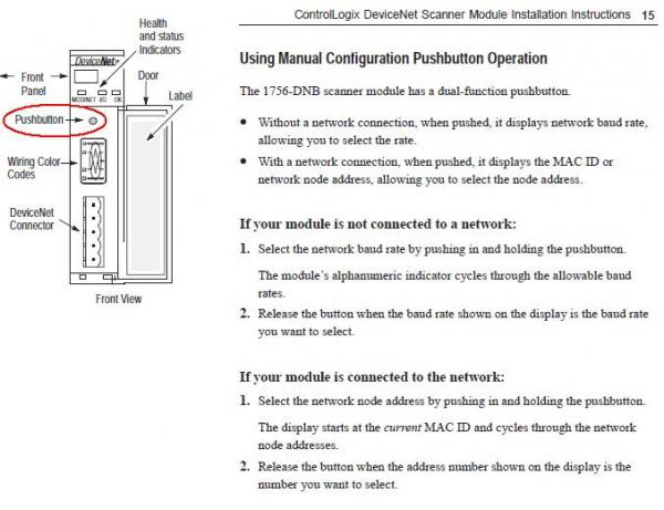 1756 dnb manual configuration button