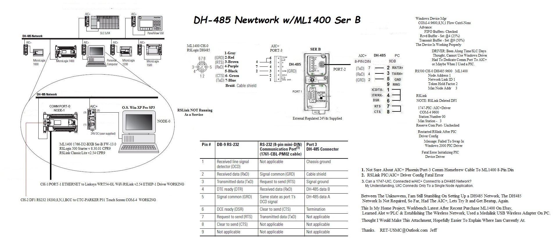 wiring micrologix 1100 dh 485 explore schematic wiring Saab 9-3 2003 Front  Headlight Wiring Diagram Saab 9-3 2.0T Engine Diagram