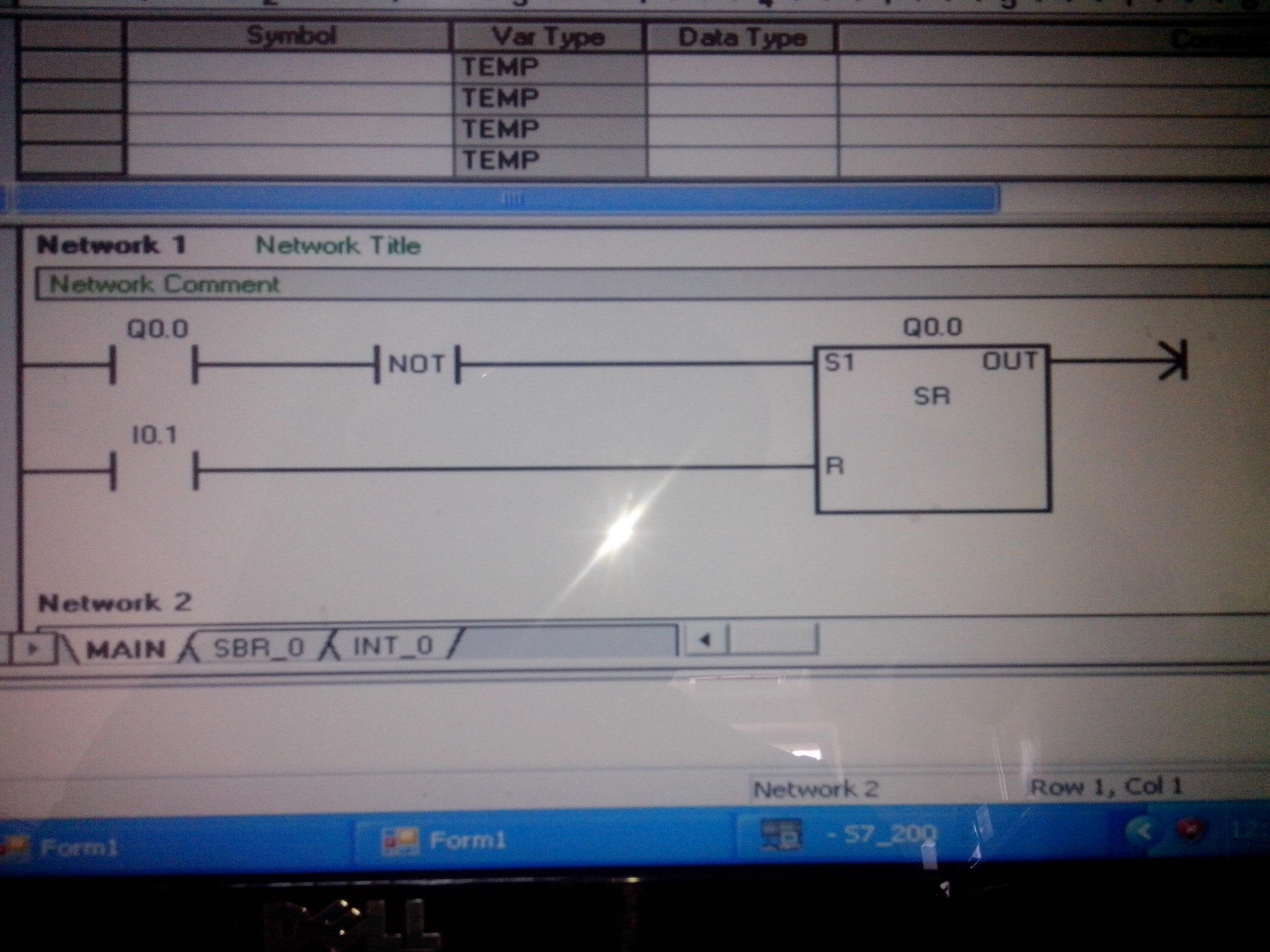 RS flip flop - Siemens - Forums MrPLC com