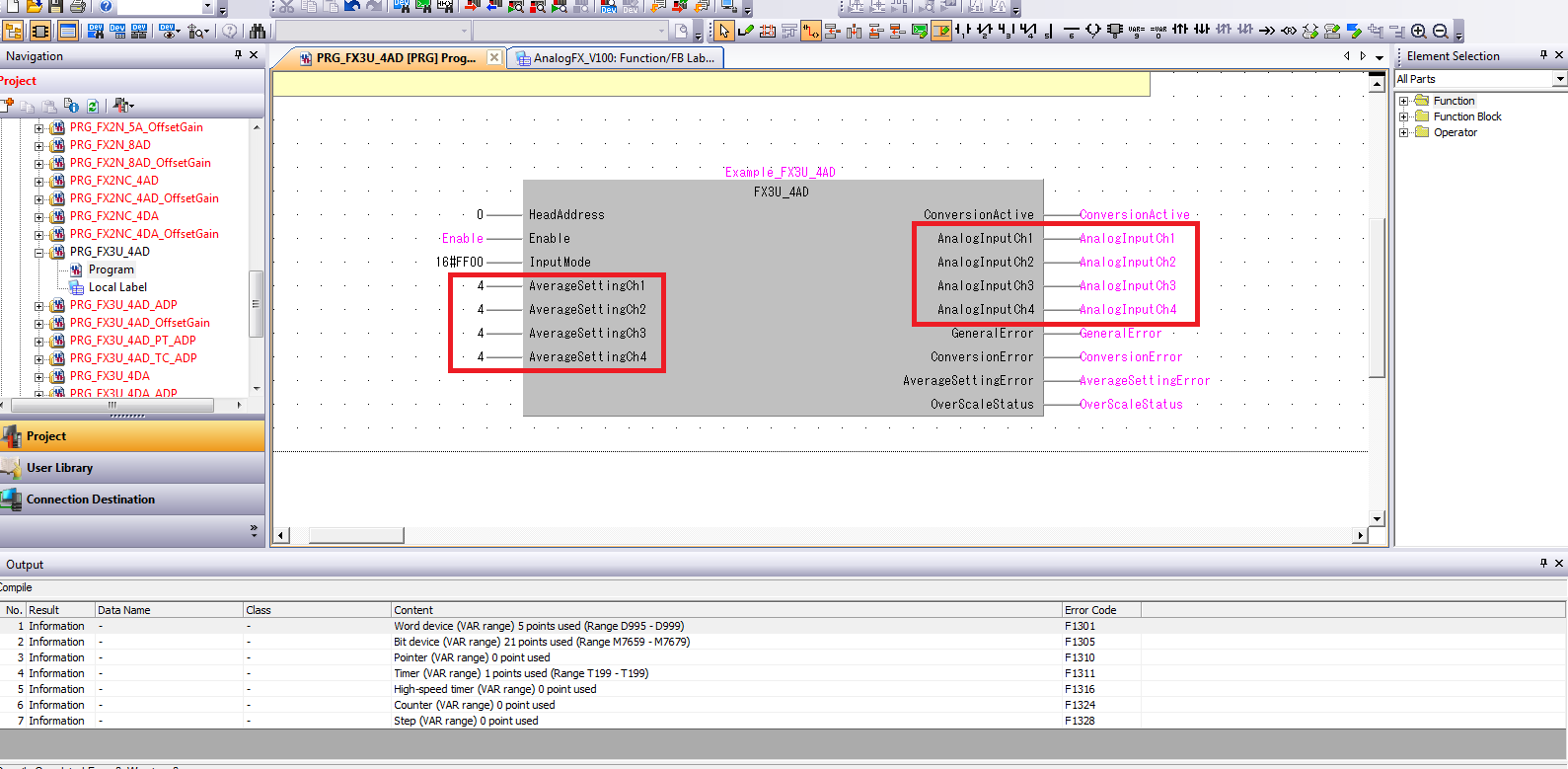 FX3U Analog Programming - Mitsubishi - Forums MrPLC com