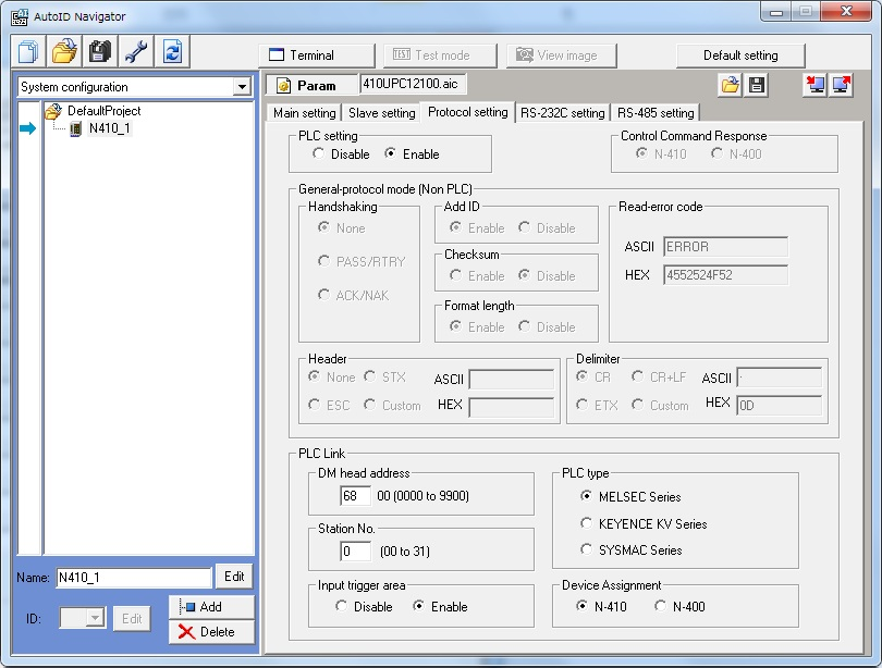 KEYENCE Bar Code Reader - Mitsubishi - Forums MrPLC com