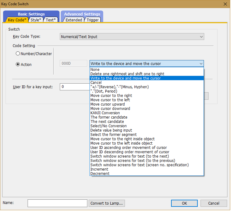 Choose Keypad GTDesigner3 - Mitsubishi - Forums MrPLC com
