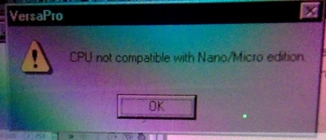 VersaPro error.jpg