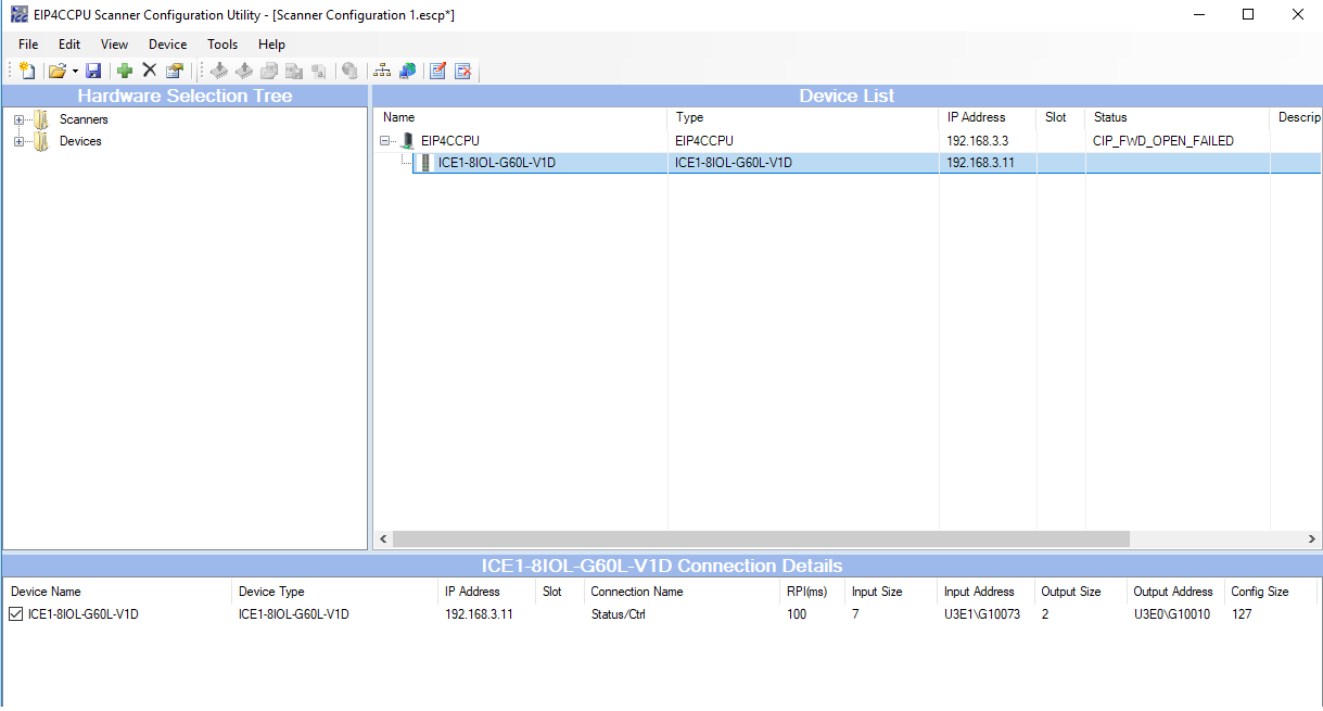 ethernet/ip configuration tool mitsubishi