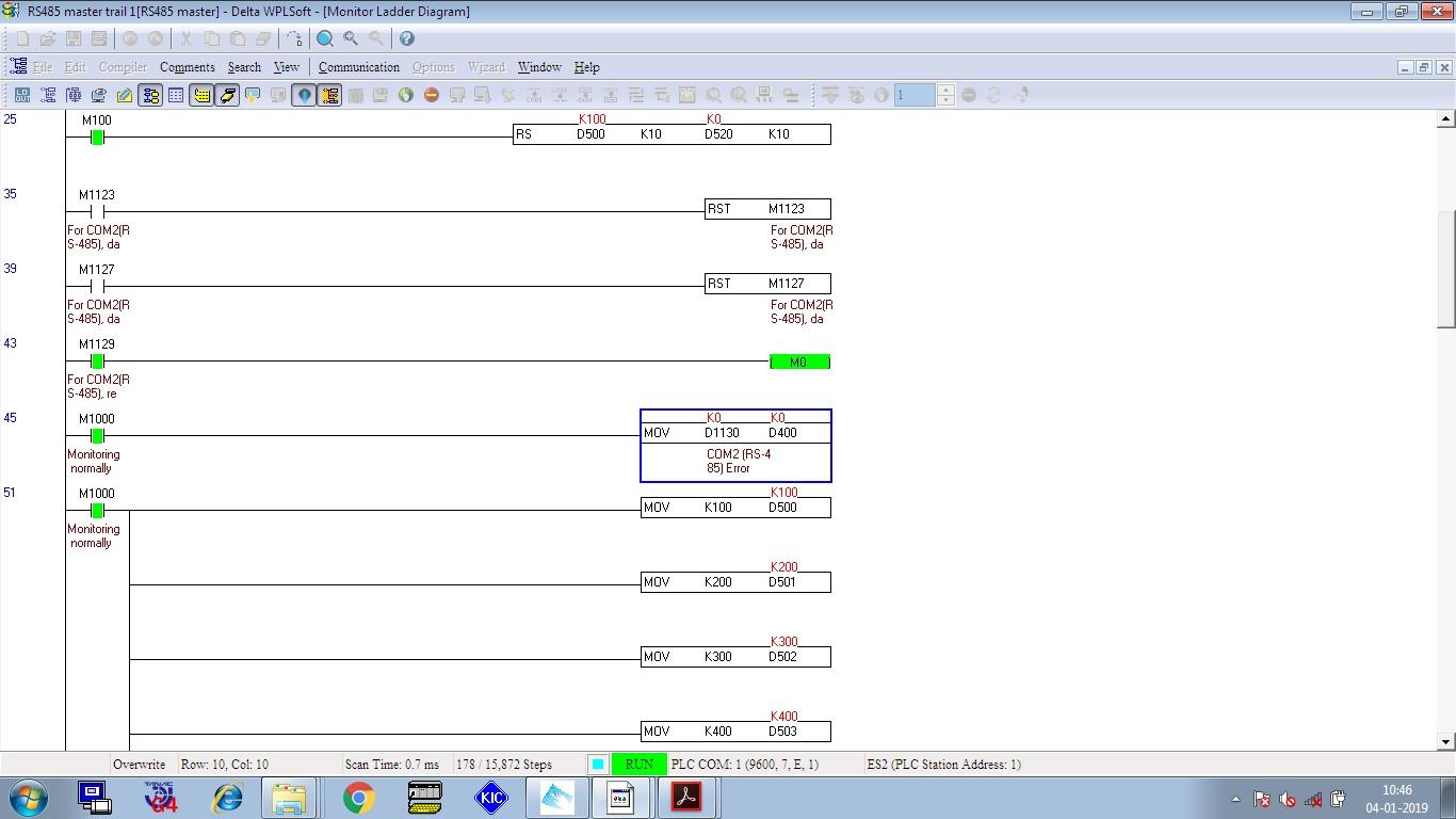 Delta to Delta PLC Rs 485 Communication - Other PLCs - Forums MrPLC com