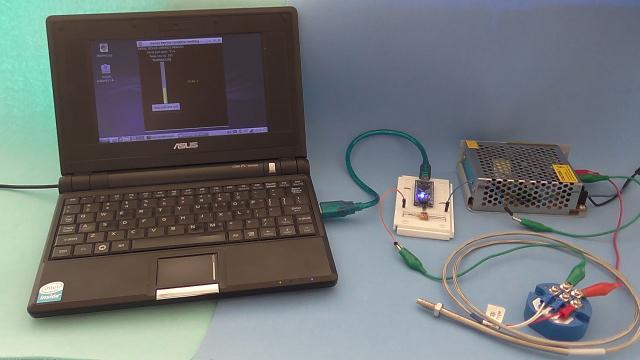 Temperature measurement using Arduino Nano, RTD PT100 temperature sensor and 4-20 mA transmitter